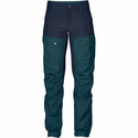 FjallRaven Women's Keb Trousers Regular - Glacier Green