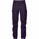 FjallRaven Women's Keb Trousers Short - Alpine Purple