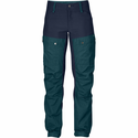 FjallRaven Women's Keb Trousers Short - Glacier Green