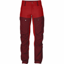 FjallRaven Women's Keb Trousers Short - Ox Red