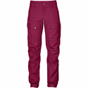 FjallRaven Women's Keb Trousers Short - Plum