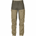 FjallRaven Women's Keb Trousers Short - Sand