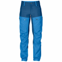 FjallRaven Women's Keb Trousers Short - UN Blue