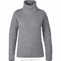 FjallRaven Women's Ovik Wool Roll Neck