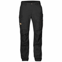 FjallRaven Women's Vidda Pro Trousers Regular - Black/Black
