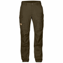 FjallRaven Women's Vidda Pro Trousers Regular - Dark Olive/Dark Olive