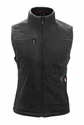 Gerbing Gyde Thermite Heated Fleece Vest for Women, Black - 7V Battery