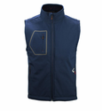 Gerbing Gyde Torrid Heated Softshell Vest, Navy - 7V Battery