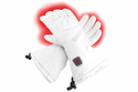 Glovii GS6 Hard Nuckle Heated Ski Gloves - White