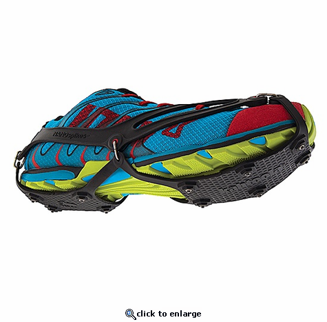 Kahtoola NANOspikes Crampons, Traction, Snow Shoes for Runners