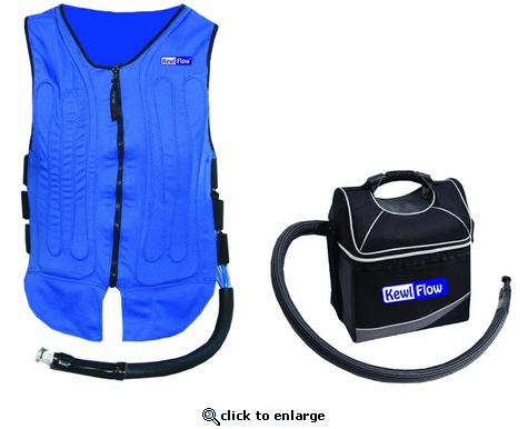 KewlFlow Circulatory Cooling Vest With Cooler Kit