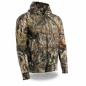 Milwaukee Leather Men's Zipper Mossy Oak Camo Heated Hoodie with Front & Back Heating