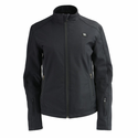 Milwaukee Leather Women's Zipper Heated Soft Shell Jacket with Front & Back Heating Elements