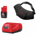 Milwaukee M12 Black Heated Hand Warmer Kit