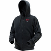 Milwaukee M12 Black Heated Hoodie Only  (No Battery)