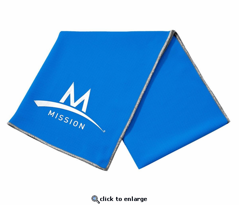 Mission Enduracool Techknit Instant Cooling Towel & Face Protection Cover