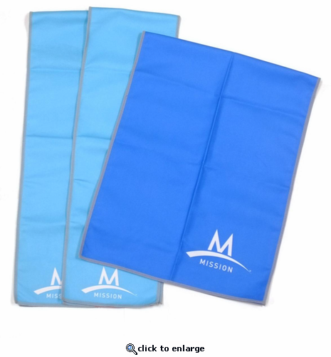 Mission Enduracool Towels - 3pc Value Pack