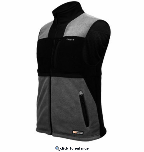 Mobile Warming Battery Heated Fleece Vest The Warming Store