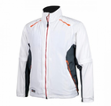 Ansai Mobile Warming Fairway Heated Golf Jacket White/Gunmetal XL