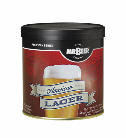 Mr. Beer American Lager Refill