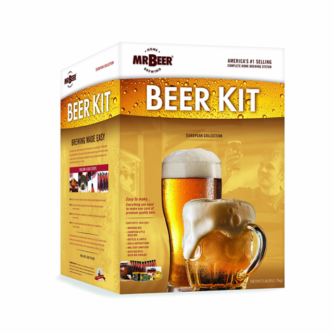 Mr. Beer European Beer Kit Bonus Edition
