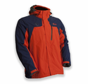 My Core Control Mens Battery Heated Ski Jacket - Blue/Orange