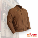 My Core Control Light Heated Bomber Jacket - Light Brown