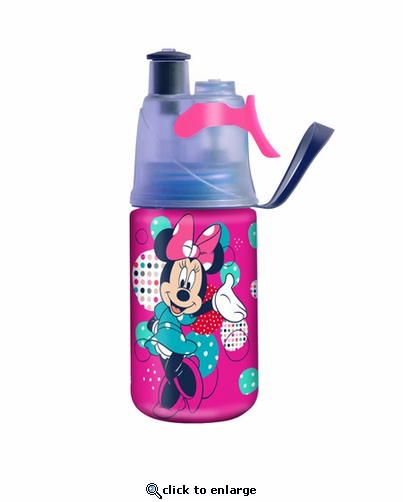 O2 Cool Kids Mist N' Sip 12 Oz. Bottle - Disney Minnie Mouse (OUT FOR THE SEASON)