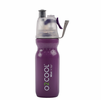 O2 Cool Mist 'N Sip Dimple ArcticSqueeze 20oz Hydration Bottle