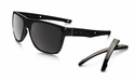 Oakley Crossrange XL Sunglasses Polished Black w/Prizm Black Polarized