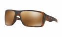 Oakley Double Edge Sunglasses Matte Tortoise w/Prizm Tungsten Polarized