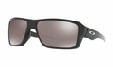 Oakley Double Edge Sunglasses Polished Black w/Prizm Black Polarized