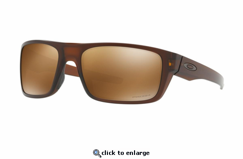 Oakley Drop Point Sunglasses Matte Root Beer w/Prizm Tungsten Polarized
