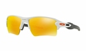 Oakley Flak 2.0 XL Sunglasses Polished White w/Fire Iridium
