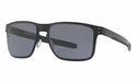Oakley Holbrook Metal Sunglasses Matte Black w/Grey