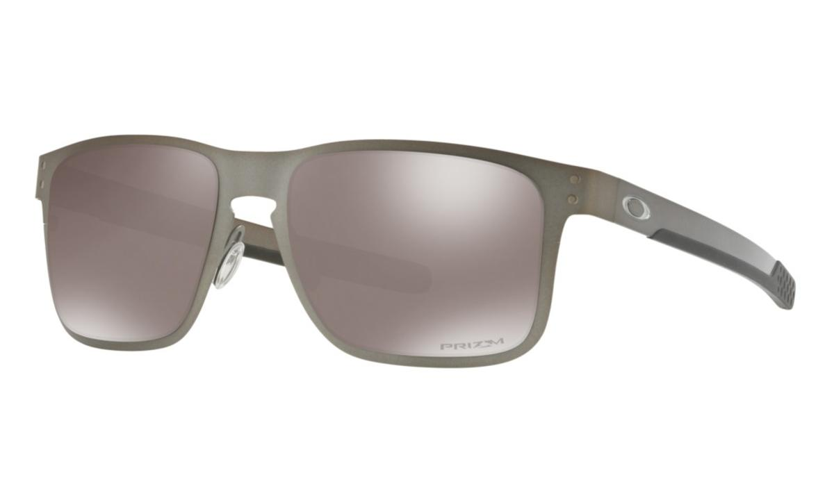 be499dd8c1f Oakley Holbrook Metal Sunglasses Matte Gunmetal w Prizm Black Polarized -  The Warming Store