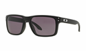 Oakley Holbrook Sunglasses Matte Black w/Warm Grey