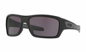Oakley Turbine Sunglasses Matte Black w/Warm Grey