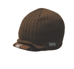 Peter Grimm Reno Brown Brim Beanie