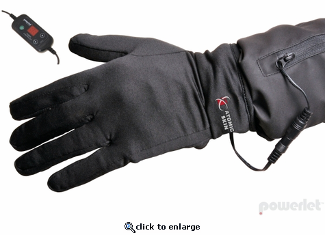 Powerlet Atomic Skin Microclimate H1 Glove Liner w/ 5 Position Controller - 12V Motorcycle