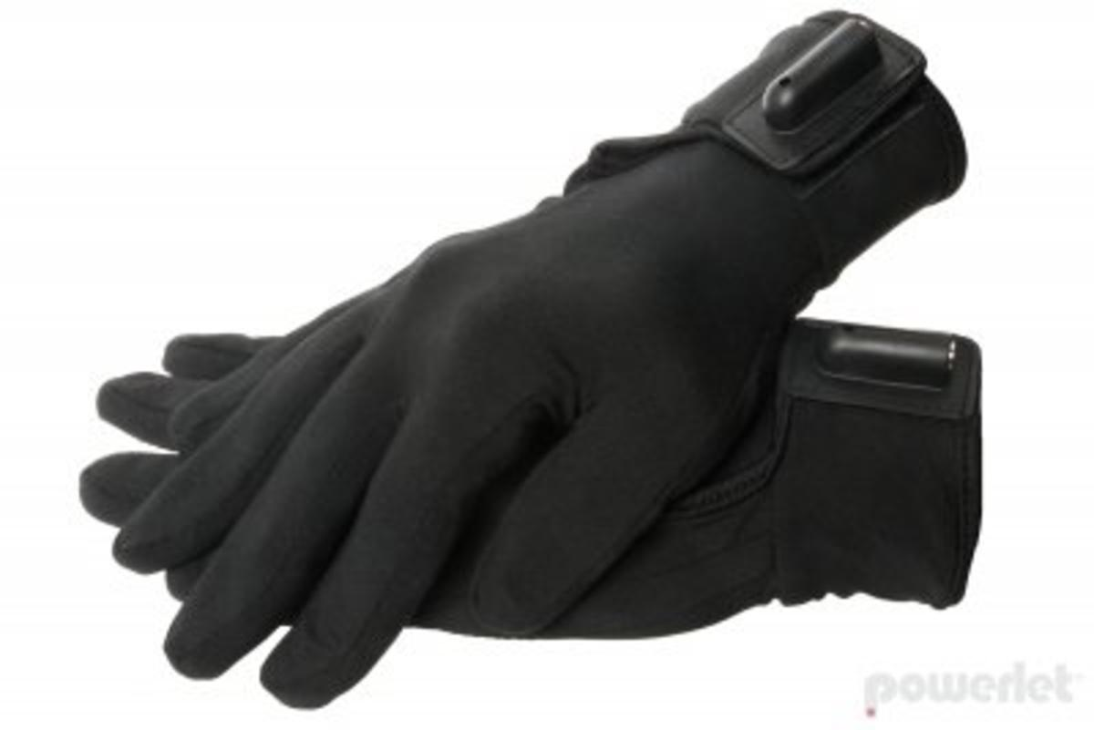 Powerlet RapidFIRe Heated Glove Liner - 12V Motorcycle - The Warming ...