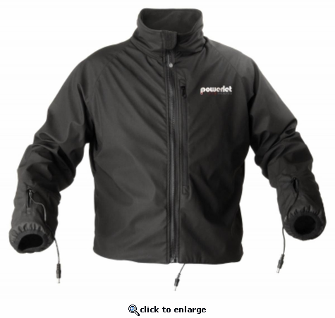 Powerlet RapidFIRe Heated Jacket Liner (No Controller) - 12V Motorcycle