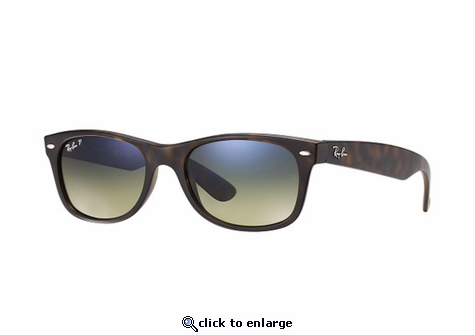 Ray-Ban New Wayfarer Classic Sunglasses with Tortoise Frame ...