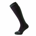 SealSkinz Hiking Mid Knee Socks - Black/Racing Green