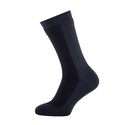 SealSkinz Hiking Mid Mid Socks - Black/Anthracite