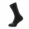 SealSkinz Hiking Mid Mid Socks - Black/Racing Green