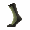 SealSkinz Hiking Mid Mid Socks - Golden Olive/DK Olive