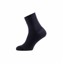 SealSkinz Road Ankle Socks with Hydrostop - Black/Grey