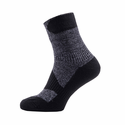 SealSkinz Walking Thin Ankle Socks - Dark Grey/Black