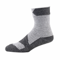 SealSkinz Walking Thin Ankle Socks - Grey Marl/Dark Grey